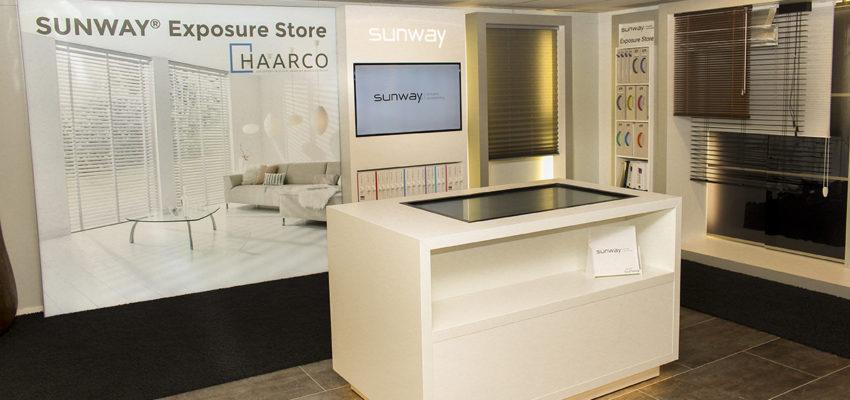 Haarco tapijt en gordijnen | SUNWAY® Exposure Store